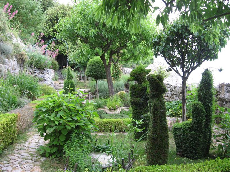 Jardin médiéval - Sainte Agnès